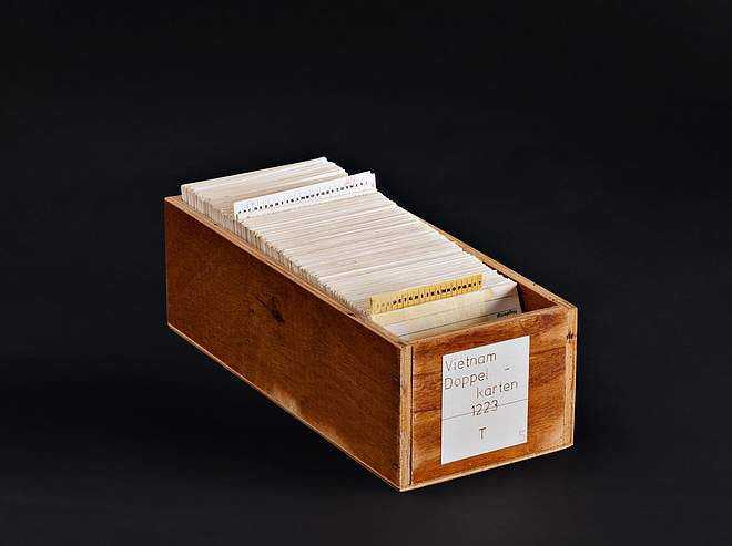 Card index box